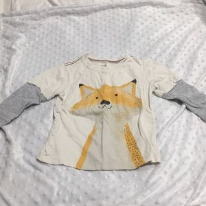 Carters 3T Fox Shirt